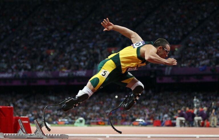 La física detrás de las prótesis de pierna de los atletas paralímpicos
